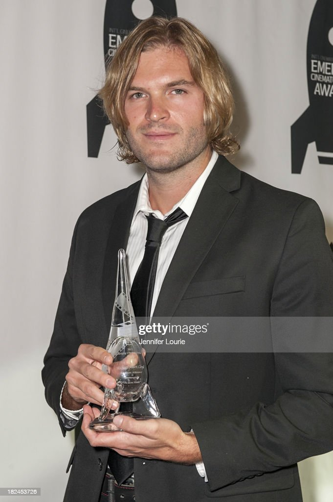 Honoree Michael Alden Lloyd attends The International Cinematographers Guild's 17th Annual Emerging Cinematographer Awards at Directors Guild Of America on September 29, 2013 in Los Angeles, California.