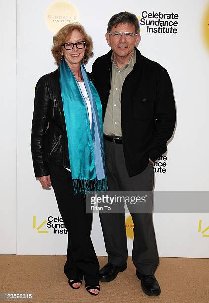 Honoree Michelle Satter and David Latt attend 1st annual Celebrate Sundance Institute Los Angeles benefit at Franklin Canyon Ranch on June 8 2011 in...