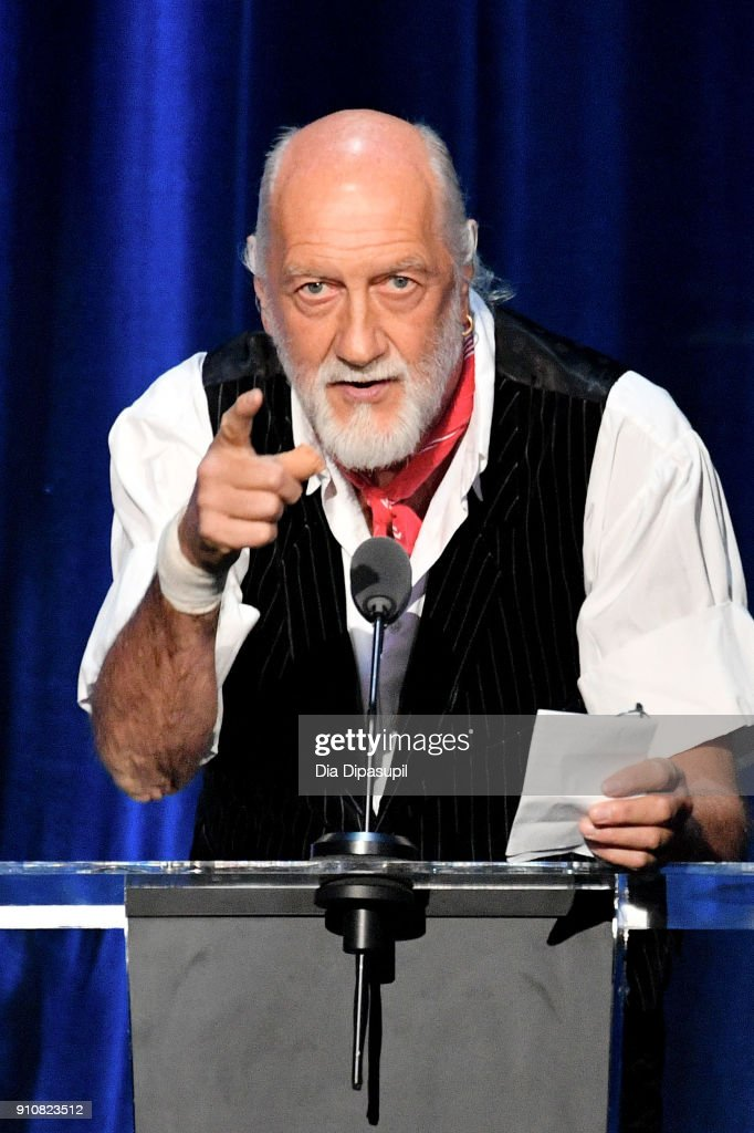 Honoree Mick Fleetwood of Fleetwood Mac accepts the MusiCares Person of the Year award onstage during MusiCares Person of the Year honoring Fleetwood Mac at Radio City Music Hall on January 26, 2018 in New York City.