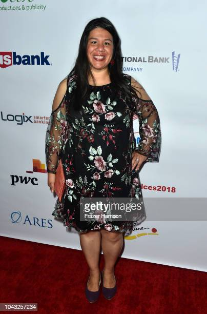 Honoree Monica Ramirez attends the 18th Annual Voices Of Our Children Fundraiser Gala And Awards Arrivals at Lowes Hollywood Hotel on September 29...