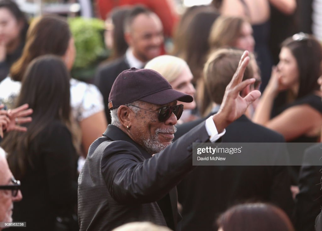 24th Annual Screen Actors Guild Awards - Fan Bleachers : News Photo