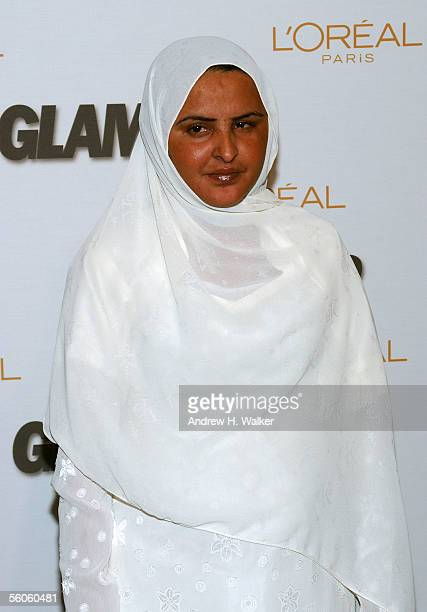 Honoree Mukhtar Mai attends the 16th Annual Glamour Magazine Women of the Year awards at Avery Fisher Hall November 2 2005 in New York City