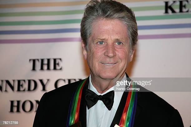 Honoree musician Brian Wilson arrives at the 30th Annual Kennedy Center Honors December 2, 2007 in Washington, DC.