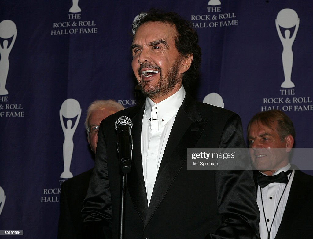 Honoree musician Dave Clark poses in the press room during the 23rd Annual Rock and Roll Hall of Fame Induction Ceremony at the Waldorf Astoria on March 10, 2008 in New York City.