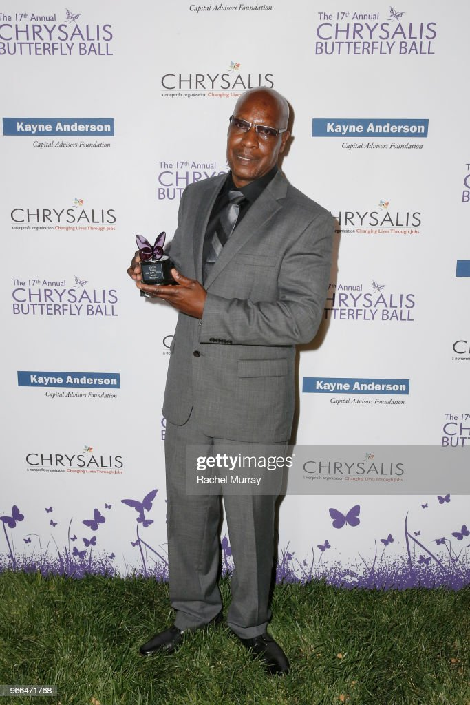 Honoree Myron Tobin at the 17th Annual Chrysalis Butterfly Ball sponsored by Kayne Anderson Capital Advisors Foundation on June 2, 2018.