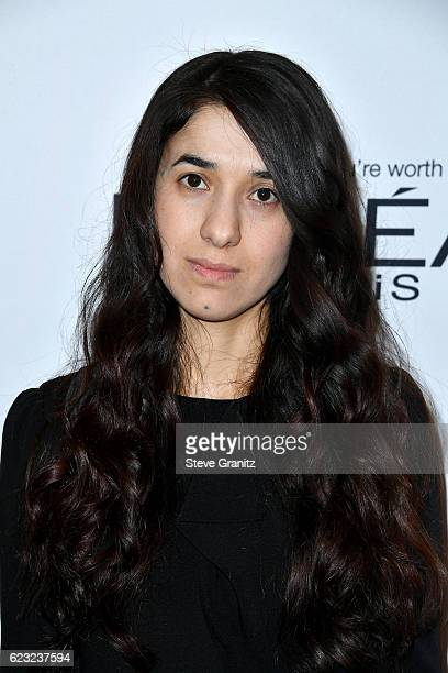 Honoree Nadia Murad attends Glamour Women Of The Year 2016 at NeueHouse Hollywood on November 14 2016 in Los Angeles California