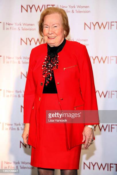 Honoree Nadine Schramm, president of Budd Enterprises, attends the New York Women In Film & Television 31st Annual Muse Awards at the New York Hilton...