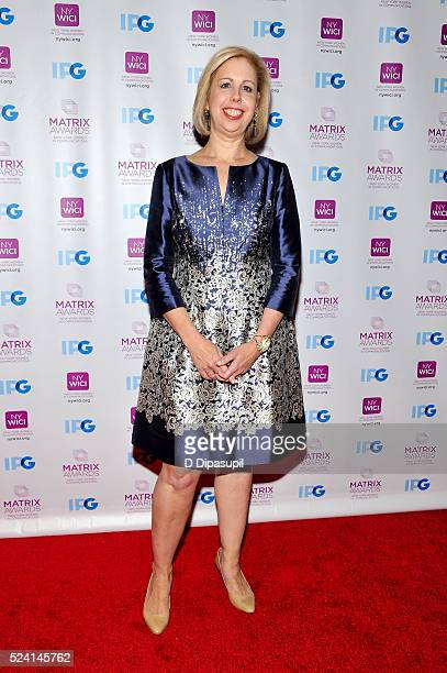 Honoree Nancy Gibbs attends the 2016 Matrix Awards at The Waldorf=Astoria on April 25, 2016 in New York City.