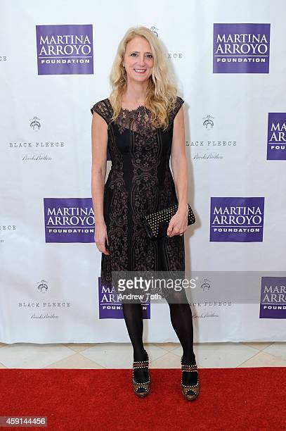Honoree Nanette Lepore attends Martina Arroyo Foundation Event Honoring Nanette Lepore at Essex House on November 17 2014 in New York City