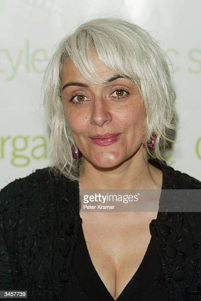 Honoree Natalie Chanin cofounder of Project Alabama attends a luncheon for Organic Magazine honoring the 2004 'Women with Organic Style' April 22...