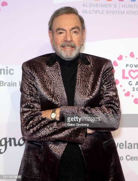 Honoree Neil Diamond attends the 24th annual Keep Memory Alive Power of Love Gala benefit for the Cleveland Clinic Lou Ruvo Center for Brain Health...