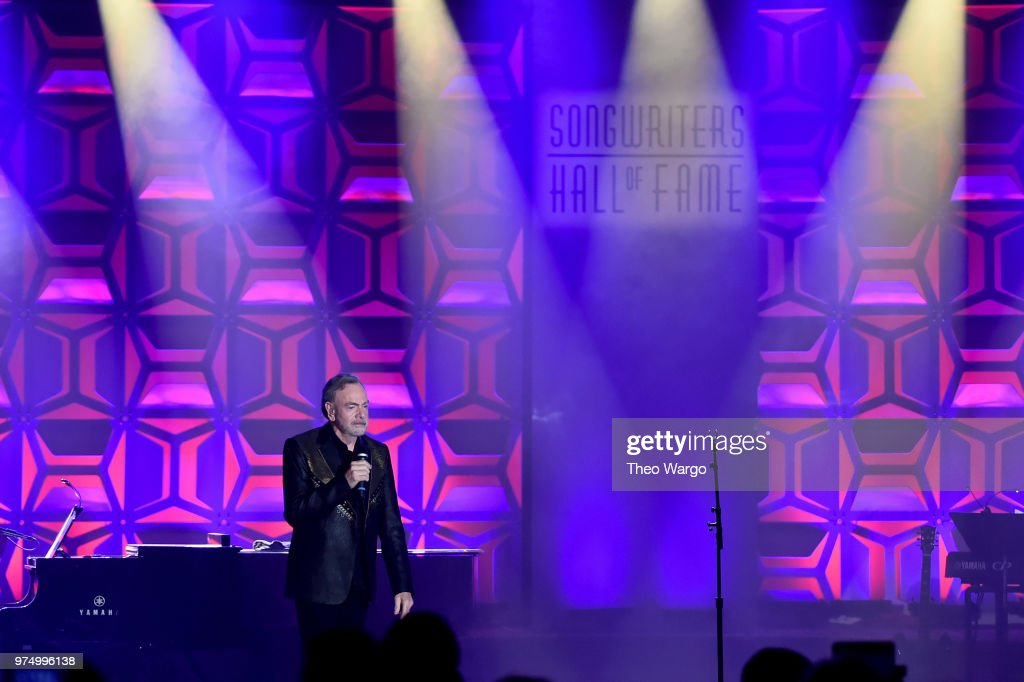 Songwriters Hall Of Fame 49th Annual Induction And Awards Dinner - Show : News Photo
