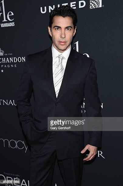 2013 honoree Nicolas Felizola attends 2014 Icons of Style Gala Hosted by Vanidades at Mandarin Oriental Hotel on September 18 2014 in New York City