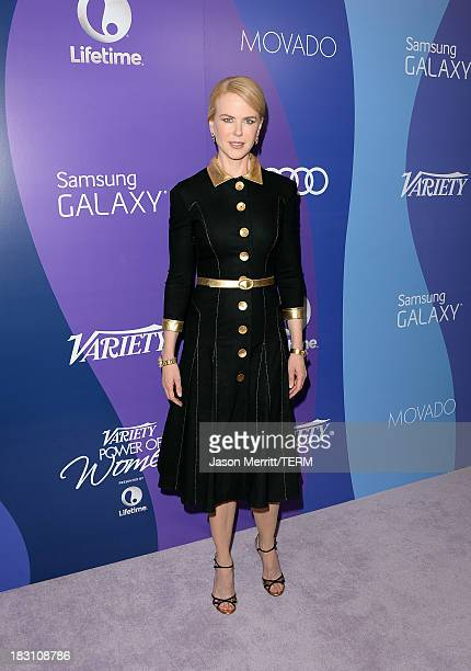 Honoree Nicole Kidman arrives at Variety's 5th Annual Power of Women event presented by Lifetime at the Beverly Wilshire Four Seasons Hotel on...