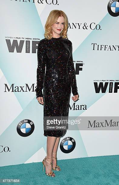 Honoree Nicole Kidman attends the Women In Film 2015 Crystal Lucy Awards Presented by Max Mara BMW of North America and Tiffany Co at the Hyatt...