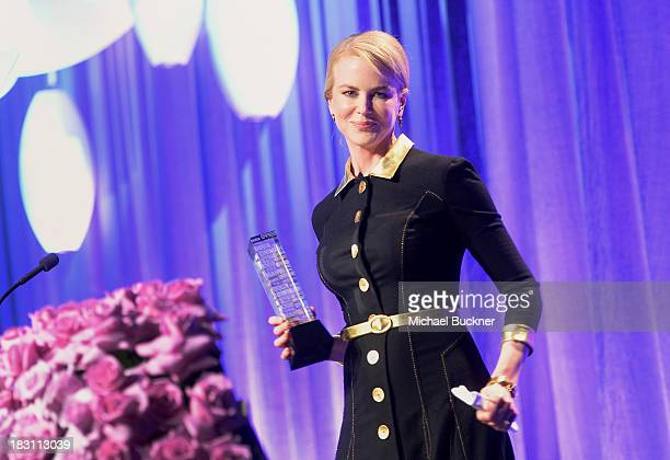 Honoree Nicole Kidman speaks onstage during Variety's 5th Annual Power of Women event presented by Lifetime at the Beverly Wilshire Four Seasons...
