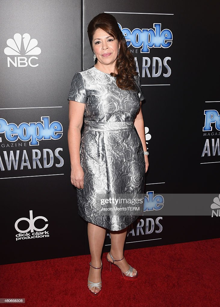 Honoree Nora Sandigo attends the PEOPLE Magazine Awards at The Beverly Hilton Hotel on December 18, 2014 in Beverly Hills, California.