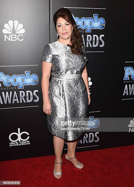 Honoree Nora Sandigo attends the PEOPLE Magazine Awards at The Beverly Hilton Hotel on December 18 2014 in Beverly Hills California
