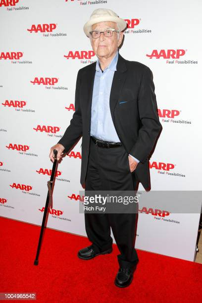 Honoree Norman Lear attends the AARP TV For Grownups Honors at Sunset Tower on July 24 2018 in Los Angeles California