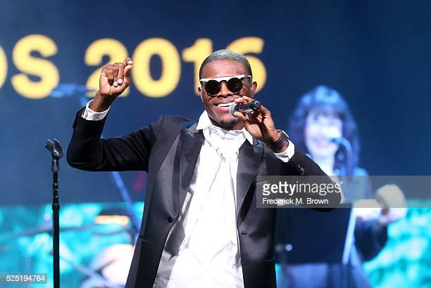 Honoree Omi performs onstage during the 2016 ASCAP Pop Awards at the Dolby Ballroom on April 27 2016 in Hollywood California