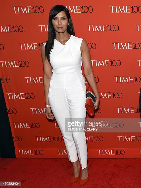 Honoree Padma Lakshmi attends the Time 100 Gala celebrating the Time 100 issue of the Most Influential People at The World at Jazz at Lincoln Center...