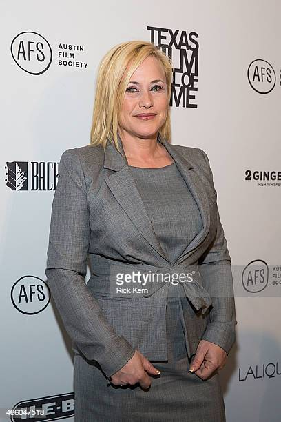 Honoree Patricia Arquette attends the Austin Film Society's 15th Annual Texas Film Awards at Austin Studios on March 12, 2015 in Austin, Texas.