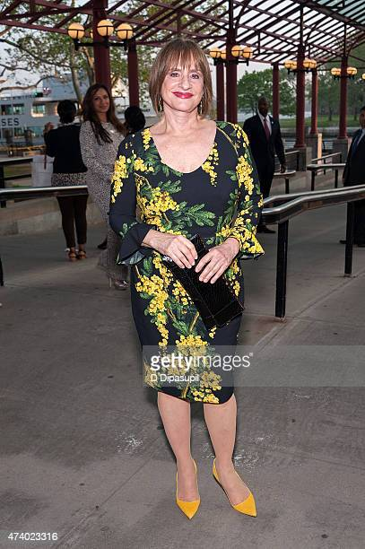 Honoree Patti LuPone attends the 2015 Statue Of LibertyEllis Island Foundation's Gala In The Great Hall at Ellis Island National Museum of...