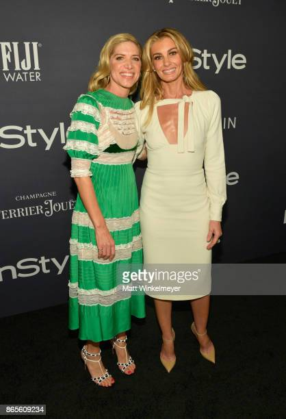 Honoree Petra Flannery and Faith Hill attend the Third Annual InStyle Awards presented by InStyle at The Getty Center on October 23 2017 in Los...