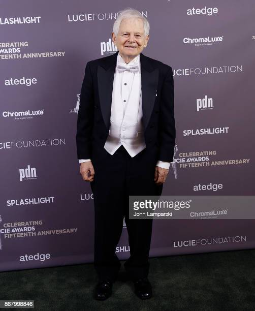 Honoree photogrpaher Steve Schapiro attends the 15th Annual Lucie Awards at Carnegie Hall on October 29 2017 in New York City