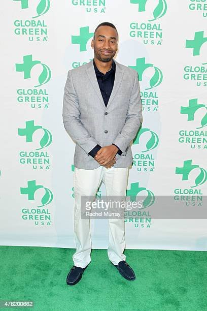 Honoree Prince Ea attends the Global Green USA 19th Annual Millennium Awards on June 6 2015 in Century City California