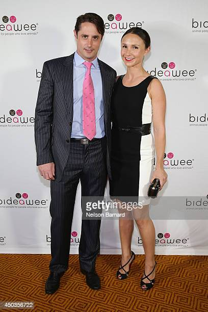 Honoree Prince Lorenzo Borghese and Equestrian Georgina Bloomberg attend the Bideawee Masquerade Ball at Gotham Hall on June 9, 2014 in New York City.