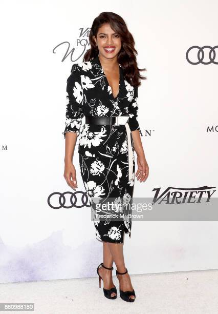 Honoree Priyanka Chopra attends the Variety's Power Of Women at the Beverly Wilshire Four Seasons Hotel on October 13 2017 in Beverly Hills California