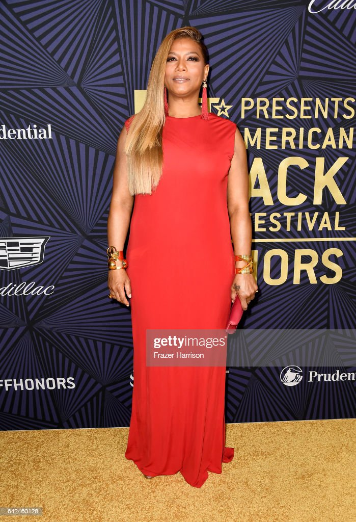 Honoree Queen Latifah attends BET Presents the American Black Film Festival Honors on February 17, 2017 in Beverly Hills, California.
