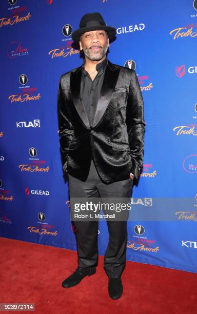 Honoree Rahsaan Patterson attends the 4th Annual Truth Awards at Taglyan Cultural Complex on February 24 2018 in Hollywood California