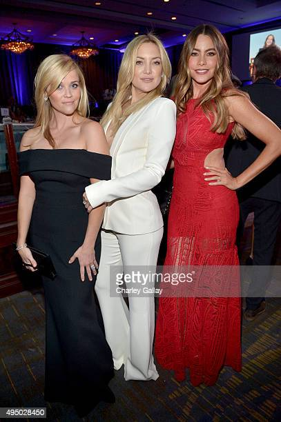 Honoree Reese Witherspoon actresses Kate Hudson and Sofia Vergara attend the 29th American Cinematheque Award honoring Reese Witherspoon at the Hyatt...