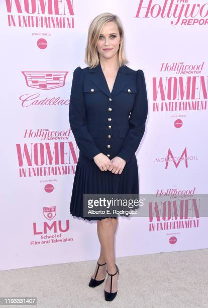 Honoree Reese Witherspoon attends The Hollywood Reporter's Power 100 Women in Entertainment at Milk Studios on December 11, 2019 in Hollywood,...