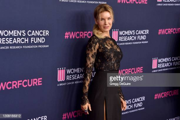 Honoree Renée Zellweger attends WCRF's An Unforgettable Evening at Beverly Wilshire A Four Seasons Hotel on February 27 2020 in Beverly Hills...