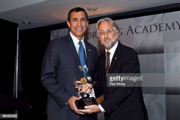 Honoree Rep Darryl Issa and Neil Portnow Recording Academy Preseident and CEO at the GRAMMYs on the Hill awards at The Liaison Capitol Hill Hotel on...