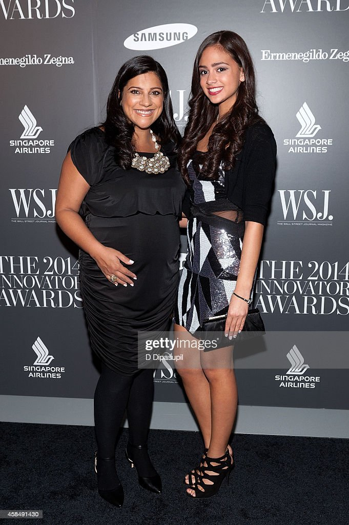 Honoree Reshma Saujani (L) and Natasha Driver attend WSJ. Magazine's 'Innovator Of The Year' Awards at the Museum of Modern Art on November 5, 2014 in New York City.