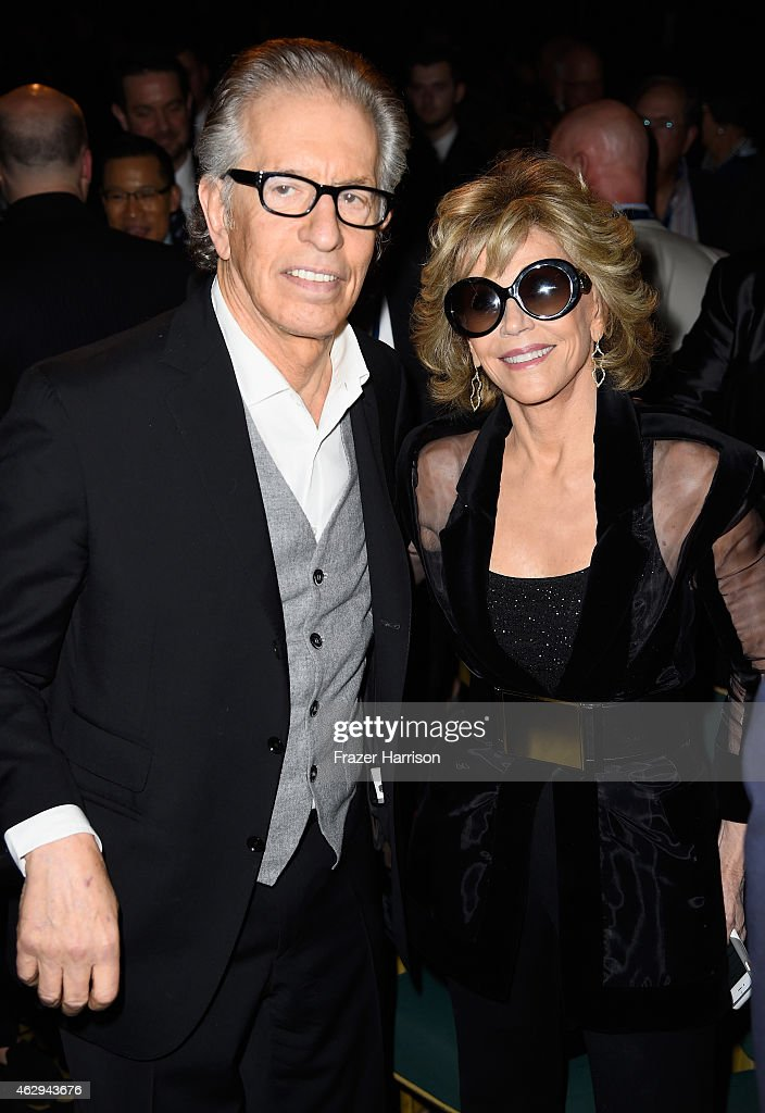 Honoree Richard Perry (L) and actress Jane Fonda attend The 57th Annual GRAMMY Awards - Special Merit Awards Ceremony on February 7, 2015 in Los Angeles, California.