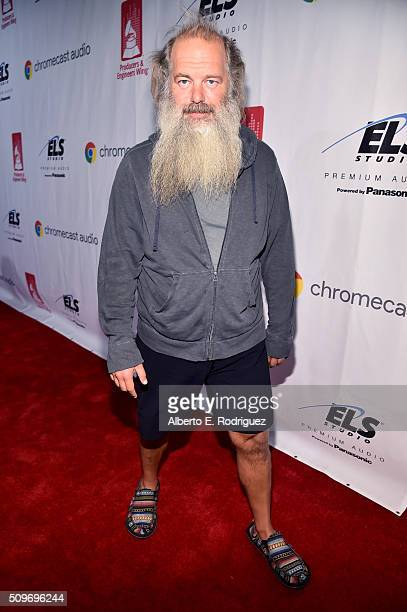 Honoree Rick Rubin attends the PE Wing Event honoring Rick Rubin at The Villiage Studios on February 11 2016 in Los Angeles California