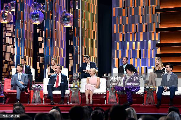 Honoree Rob Lowe, actor Ralph Macchio, recording artist Jewel, retired NFL player Peyton Manning, actor Pete Davidson, comedian Nikki Glaser, actor...