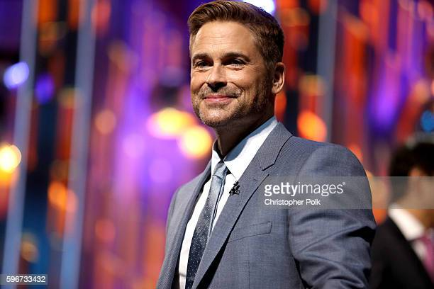 Honoree Rob Lowe appears onstage at The Comedy Central Roast of Rob Lowe at Sony Studios on August 27 2016 in Los Angeles California The Comedy...