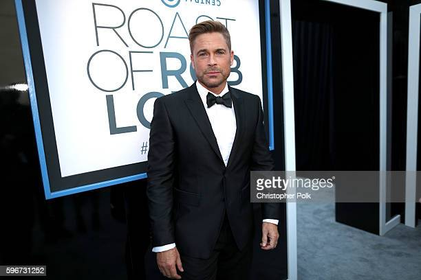 Honoree Rob Lowe attends The Comedy Central Roast of Rob Lowe at Sony Studios on August 27 2016 in Los Angeles California