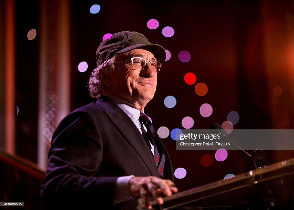 Honoree Robert De Niro accepts the Hollywood Career Achievement Award onstage during the 19th Annual Hollywood Film Awards at The Beverly Hilton Hotel on November 01, 2015 in Beverly Hills, California.