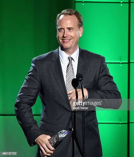 Honoree Robert Greenblatt accepts the Hero Award onstage during TrevorLIVE LA Honoring Robert Greenblatt Yahoo and Skylar Kergil for The Trevor...