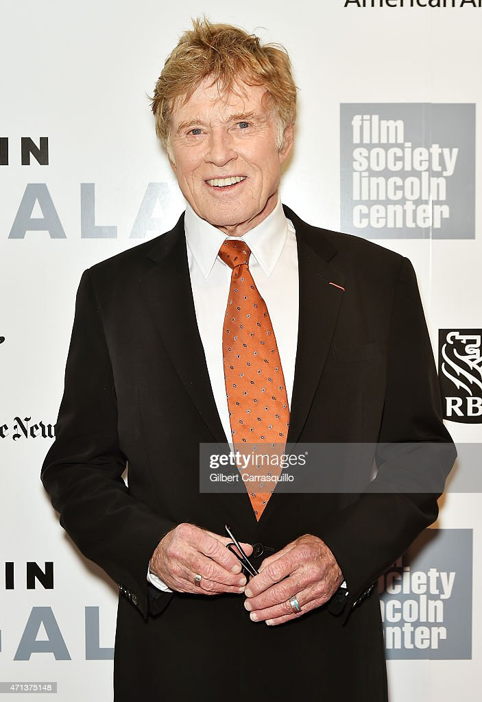 Honoree Robert Redford attends the 42nd Chaplin Award Gala at Alice Tully Hall, Lincoln Center on April 27, 2015 in New York City.