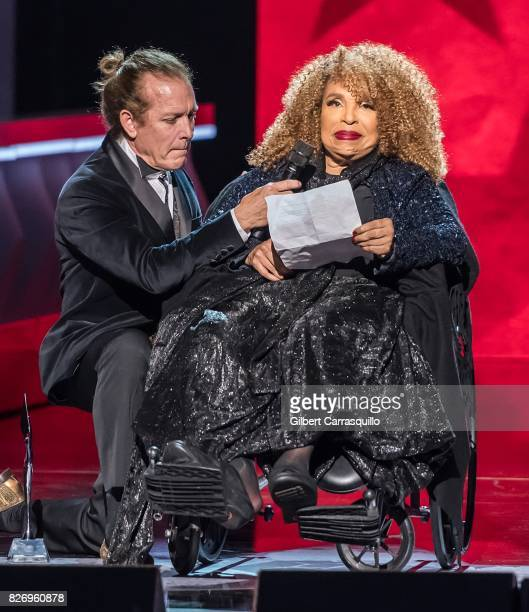 Honoree Roberta Flack speaks onstage during Black Girls Rock 2017 at New Jersey Performing Arts Center on August 5 2017 in Newark New Jersey