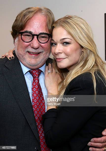 Honoree Rod Essig and LeAnn Rimes backstage at Inspire Nashville 2 A Celebration for Possibilities Inc at Marathon Music Works on October 14 2014 in...