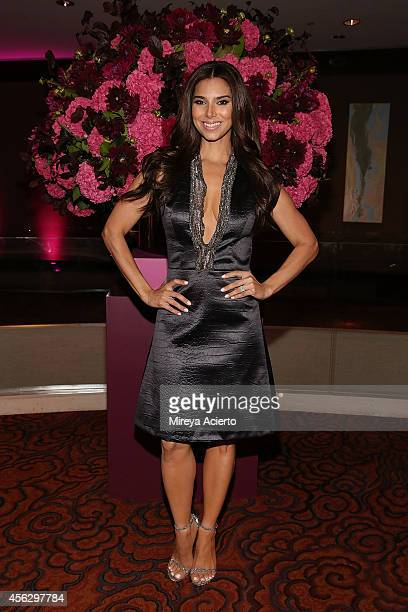 Honoree Roselyn Sanchez attends 2014 Icons Of Style Gala Hosted By Vanidades at Mandarin Oriental Hotel on September 18 2014 in New York City